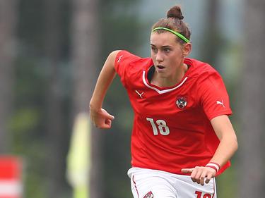 Laura Krumböck brachte Österreichs U17-Frauen gegen Norwegen in Führung