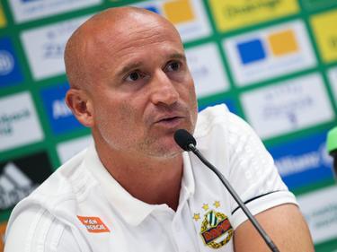 Rapid-Trainer Goran Djuricin erwartet von seiner Mannschaft eine Reaktion