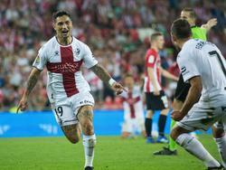 Ávila empató el partido con un auténtico golazo. (Foto: Getty)