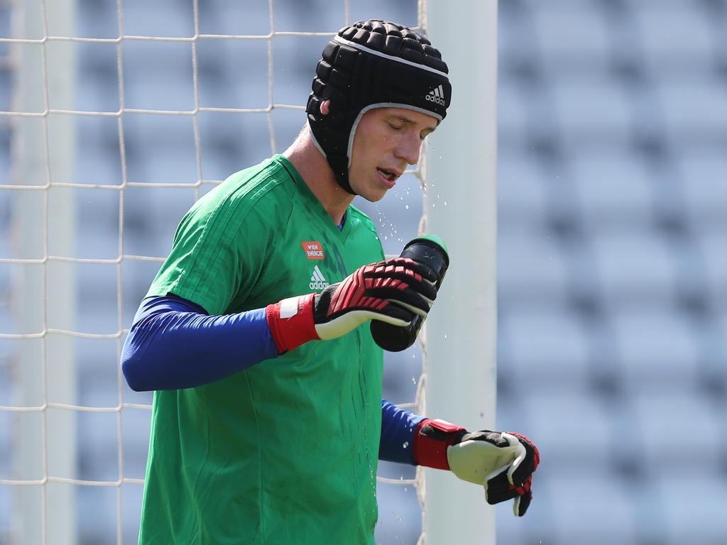 Goalie Richard Strebinger bietet für Rapid Woche für Woche Topleistungen