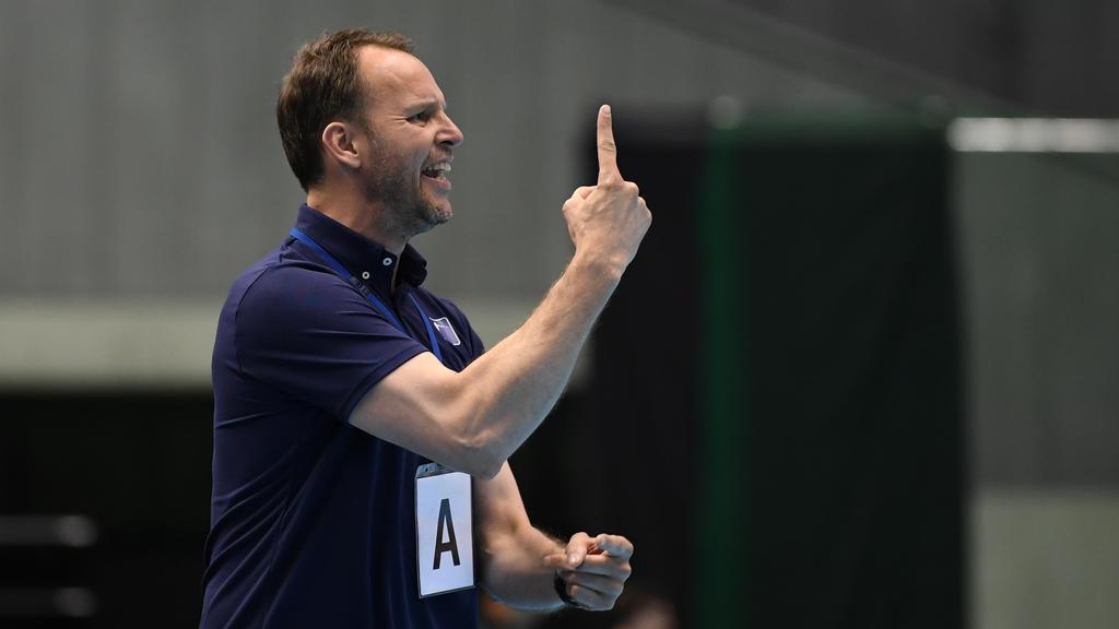 Ex-Bundestrainer Dagur Sigurdsson musste sich gegen Mazedonien geschlagen geben