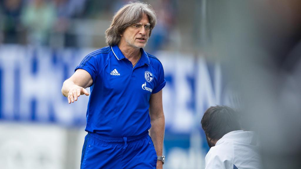 Norbert Elgert arbeitet seit Jahren erfolgreich beim FC Schalke 04