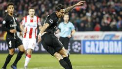 Ángel Di María traf für PSG zum zwischenzeitlichen 2:1