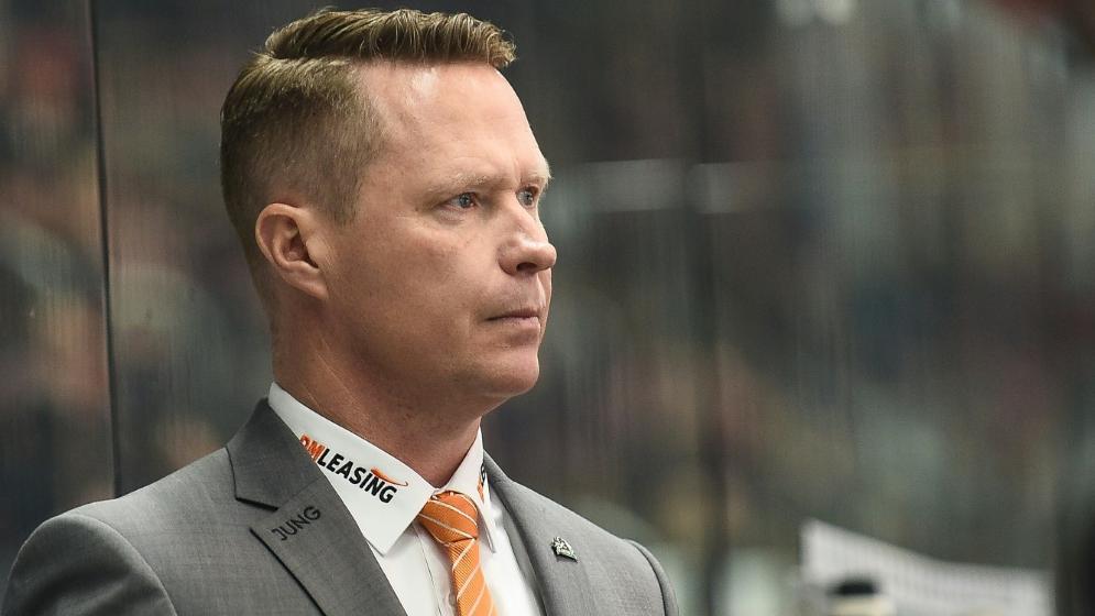 Mike Stewart ist neuer Trainer der Kölner Haie