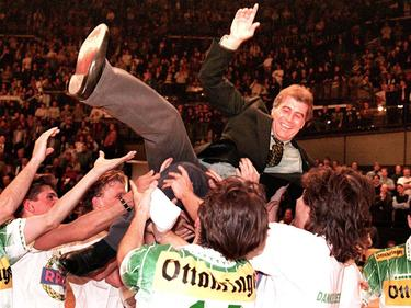 Das Stadthallenturnier 1994/95 - der erste Titel, den Ernst Dokupil mit Rapid holte