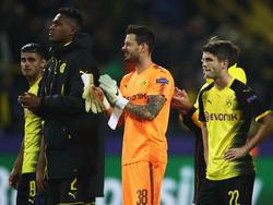 Sehen sich auf dem richtigen Weg: Die Profis von Borussia Dortmund bleiben positiv