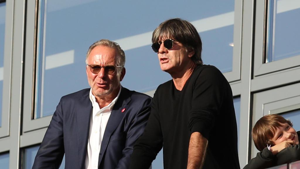 Bayern-Boss Rummenigge ist mit der Haltung von Bundestrainer Löw nicht einverstanden