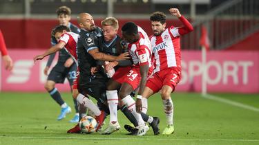 Würzburg hat das umkämpfte Spiel gegen die Löwen gewonnen