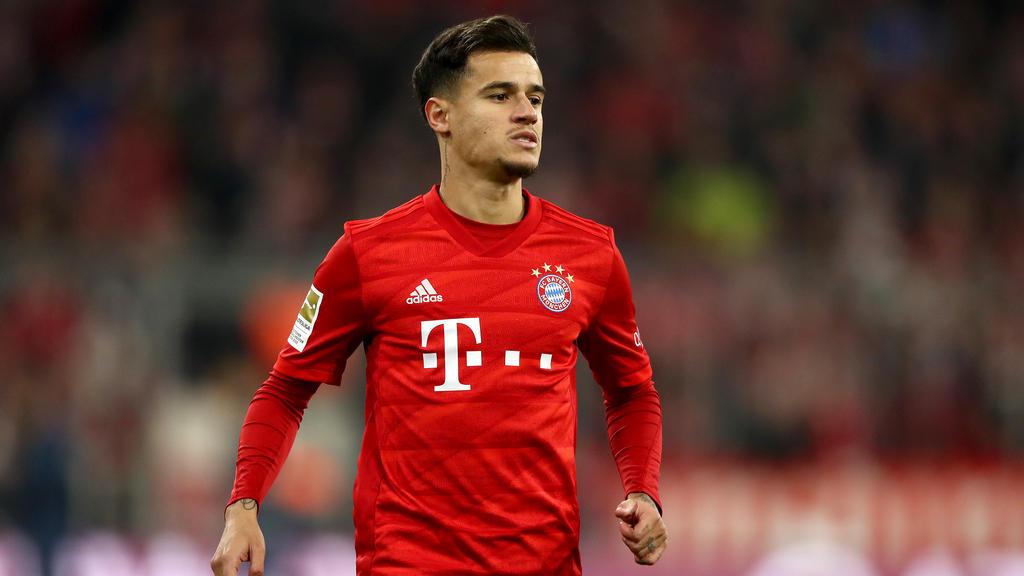 Philippe Coutinho spielt aktuell auf Leihbasis für den FC Bayern