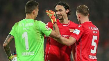 Neven Subotic (M.) steht seit dieser Saison bei Union Berlin unter Vertrag
