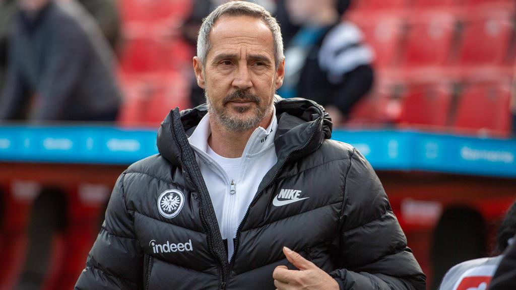 Bleibt Adi Hütter auch über sein Vertragsende hinaus bei der Eintracht?