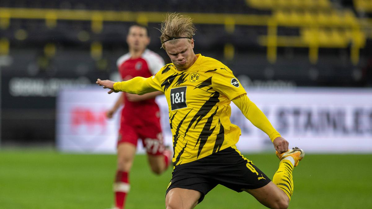 BVB-Stürmer Erling Haaland steht im Fokus der internationalen Top-Klubs