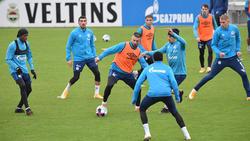 Das Training des FC Schalke 04 soll nach einem Streit beendet worden sein