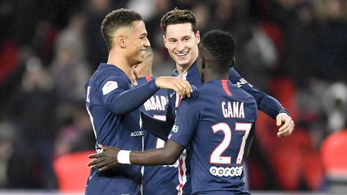 Thilo Kehrer, Julian Draxler und Idrissa Gueye dürfen PSG im Winter verlassen