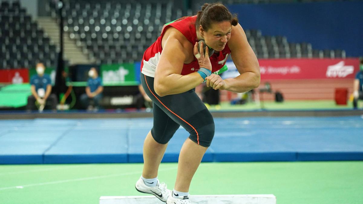 Christina Schwanitz wurde Zweite