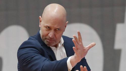 Die Würzburger um Trainer Denis Wucherer sollten eigentlich bis zum 22. Februar in einer sogenannten Kohorten-Quarantäne bleiben