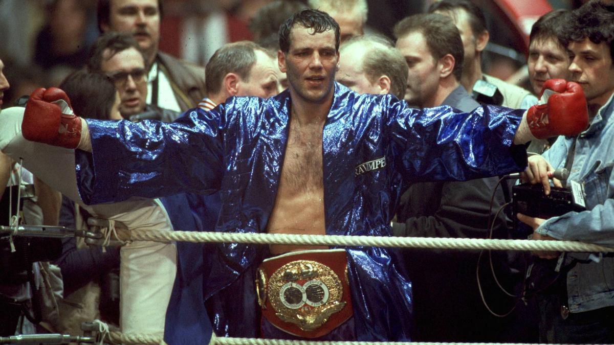 Henry Maske holte 1993 den WM-Titel im Halbschwergewicht