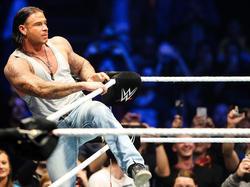 Tim Wiese beim Wrestling