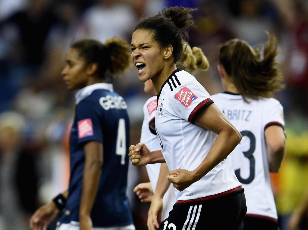 Darf sich immerhin Torschützenkönigin der WM nennen:  Célia Šašić