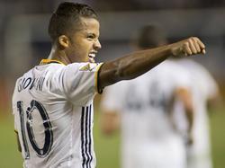 Giovani dos Santos anotó para los Galaxy. (Foto: Imago)