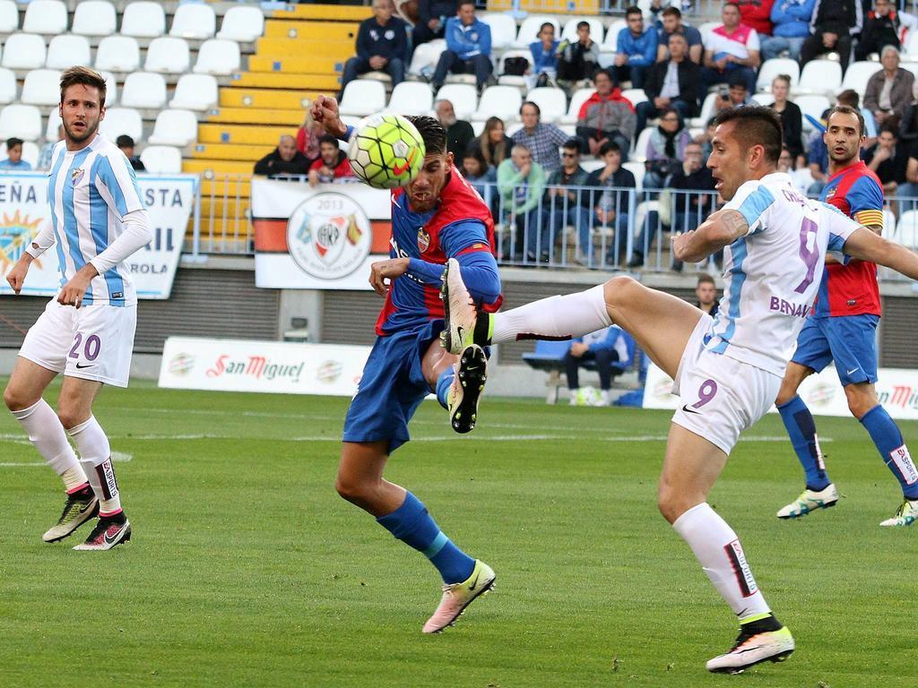 UD Levante unterlag mit 1:3 gegen Málaga und steigt ab