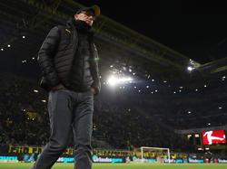 Not amused: BVB-Coach Peter Stöger