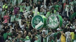 Imagen de la afición de Atlético Nacional. (Foto: Getty)