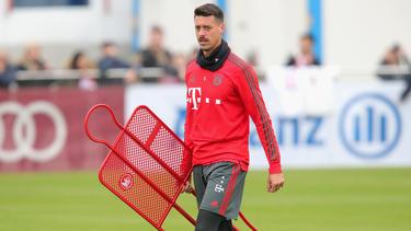 Sandro Wagner spielt seit Januar 2018 beim FC Bayern