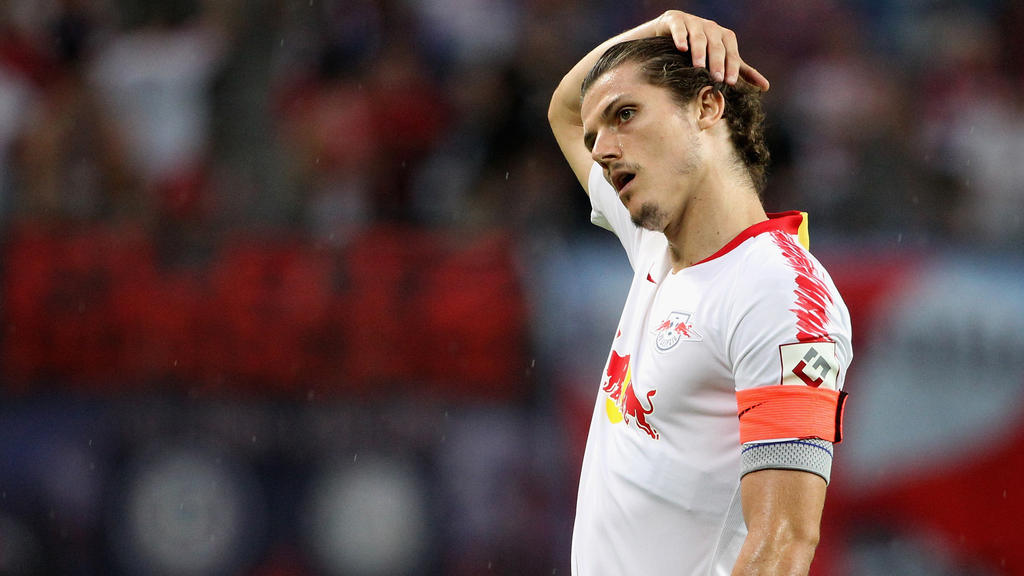 Marcel Sabitzer war nach der Niederlage sehr verärgert