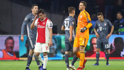 Bei Ajax Amsterdam gab der FC Bayern zweimal eine Führung aus der Hand