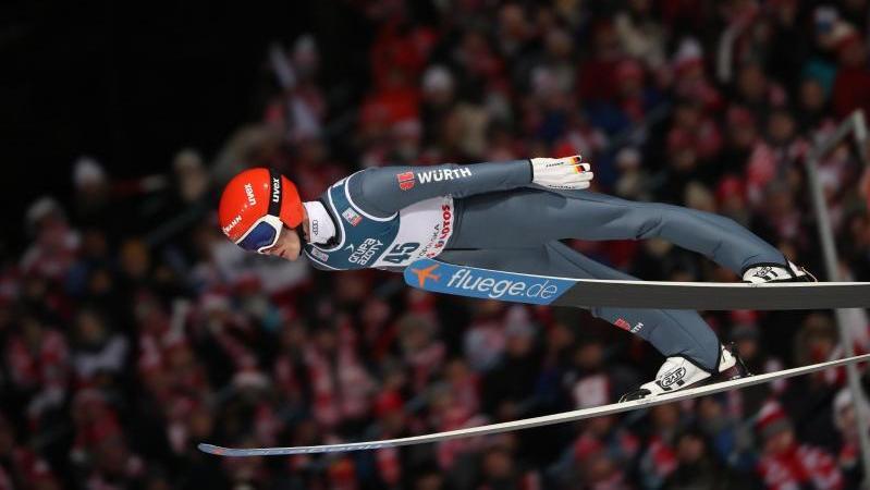 Stephan Leyhe kam in Sapporo als bester Deutscher auf Rang acht