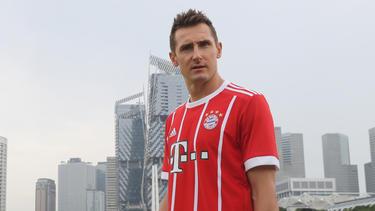 Miroslav Klose ist Nachwuchstrainer des FC Bayern