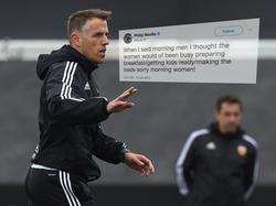 Im Kreuzfeuer für seine mutmaßlichen Twitter-Äußerungen: Phil Neville