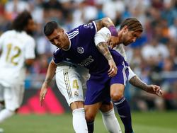 Sergi Guardiola marcó el gol del empate en el Bernabéu.