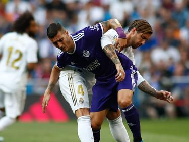Guardiola mit Ramos im griechisch-römisch Stil