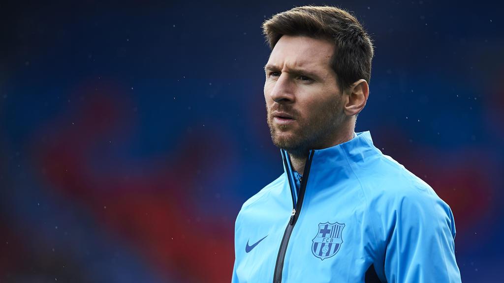 Lionel Messi kann womöglich nicht gegen den BVB spielen