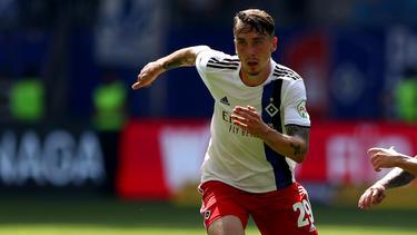 Adrian Fein ist vom FC Bayern an den HSV verliehen
