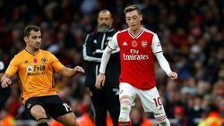 Mesut Özil stand gegen Wolverhampton wieder in der Startelf