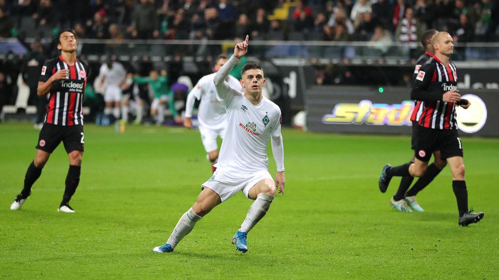 Soll beim FC Schalke 04 hoch im Kurs stehen: Milot Rashica von Werder Bremen