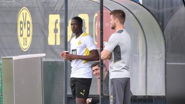 Soumaila Coulibaly (l.) wechselte in diesem Sommer zum BVB