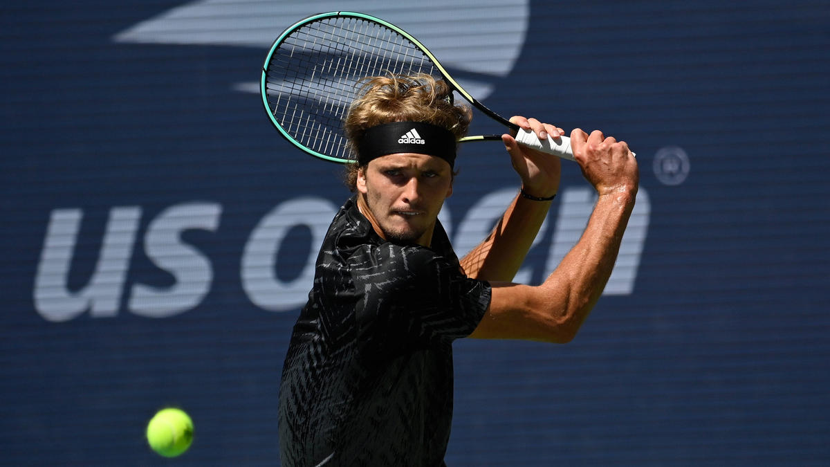 Steht im Halbfinale der US Open: Alexander Zverev