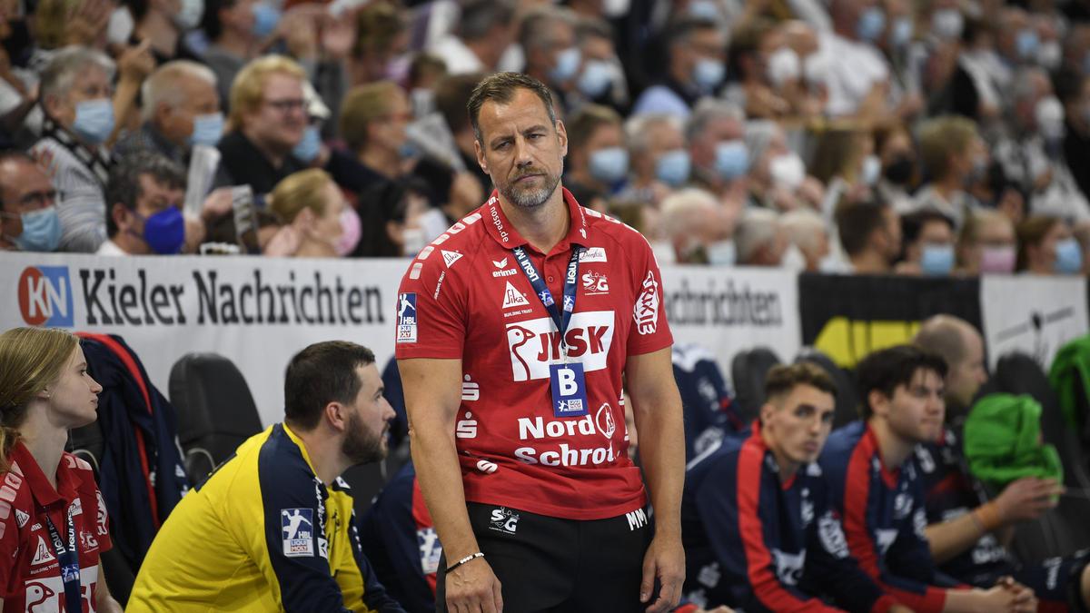 Maik Machulla wartet mit der SG Flensburg-Handewitt auf einen Sieg