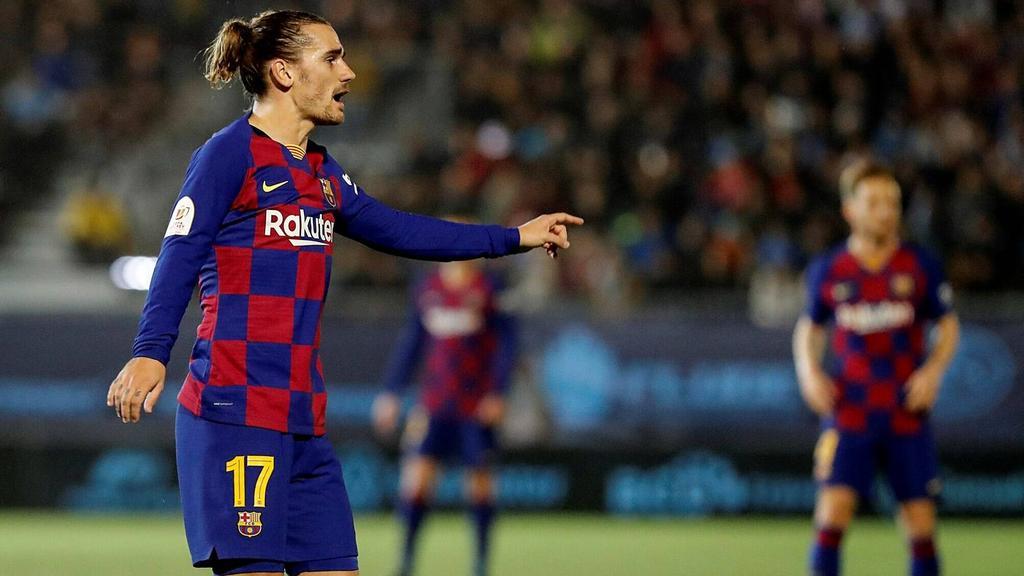 In der 94. Minute gelang Antoine Griezmann der erlösende Siegtreffer für Barca