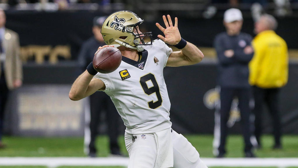 Hat noch nicht genug von der NFL: New-Orleans-Quarterback Drew Brees
