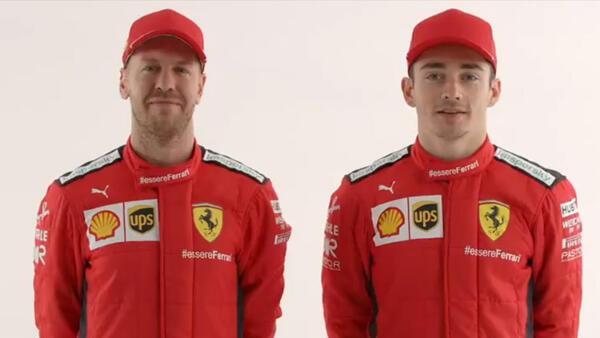 Vettel und Leclerc starten 2020 unter gleichen Voraussetzungen