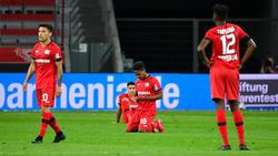 Bayer Leverkusen ging gegen den VfL Wolfsburg unter