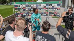 Sieht sich selbst nicht als Robben der Karibik: Tahith Chong von Werder Bremen