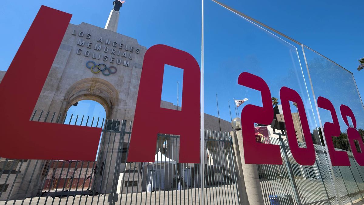 Entwarf das Logo für LA 2028 mit: Allyson Felix