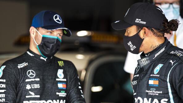 Valtteri Bottas musste Lewis Hamilton wieder einmal den Vortritt lassen