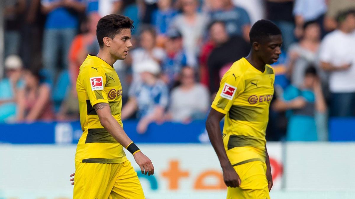 Marc Bartra und Ousmane Dembélé spielten gemeinsam für den BVB